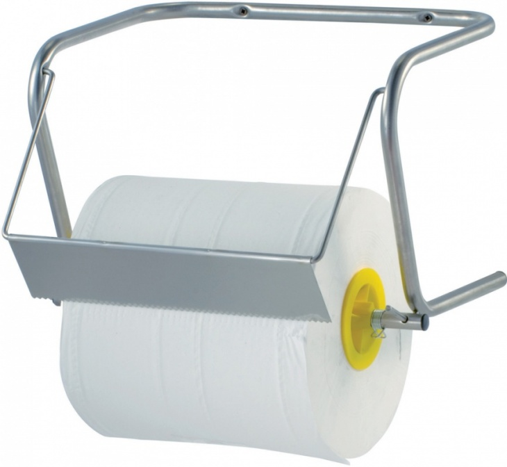 Industrial paper-roll dispenser