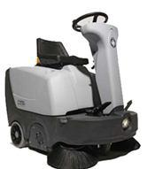 Ride-on Sweeper with manual dump SR 1000S P